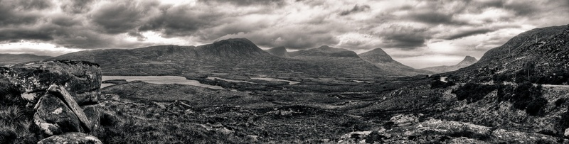 Towards Stac Pollaidh